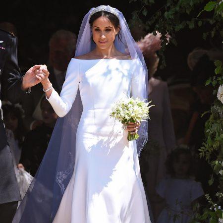 Nunta Regala. Meghan Markle, in rochia de mireasa Givenchy.
