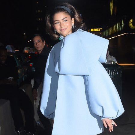 Zendaya, intr-o tinuta Dice Kayek Couture