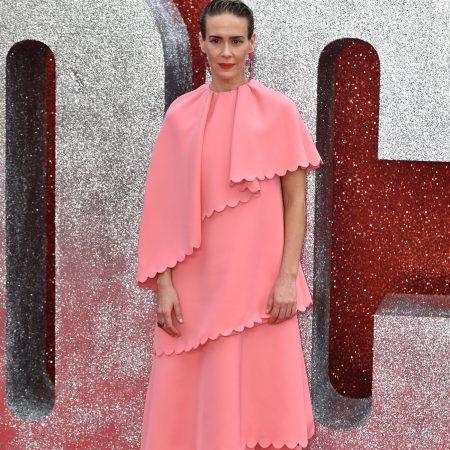 Sarah Paulson, intr-o rochie Valentino