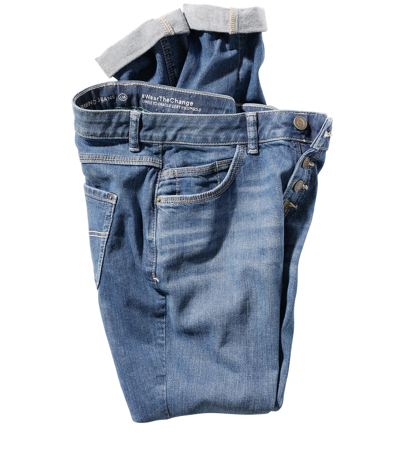Jeansi 100% reciclabili si biodegradabili