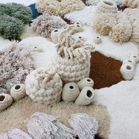 Vanessa Barragao. Covoare inspirate de recifele de corali.
