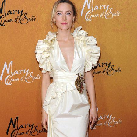 Saoirse Ronan, intr-o rochie Gucci